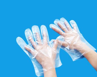 一次性使用PE检查手套