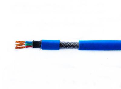 礦用鍍鋅鋼絲編織鎧裝通信電纜