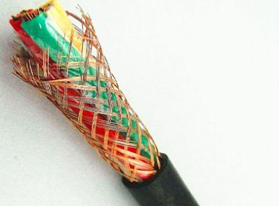 山西聚氯乙烯絕緣聚氯乙烯護套銅絲編織屏蔽軟電線