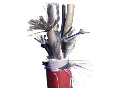 采煤機金屬屏蔽軟電纜