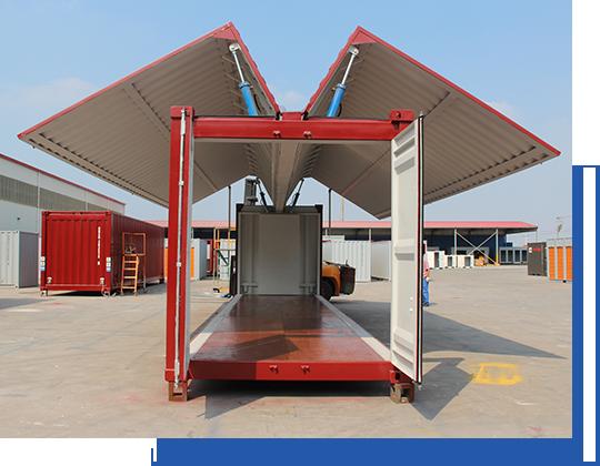 煙臺集裝箱、定制標準集裝箱、威海集裝箱、特種集裝箱集裝箱房屋生產定制廠家