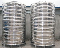 不銹鋼圓柱水箱