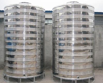 漳州不銹鋼圓柱水箱