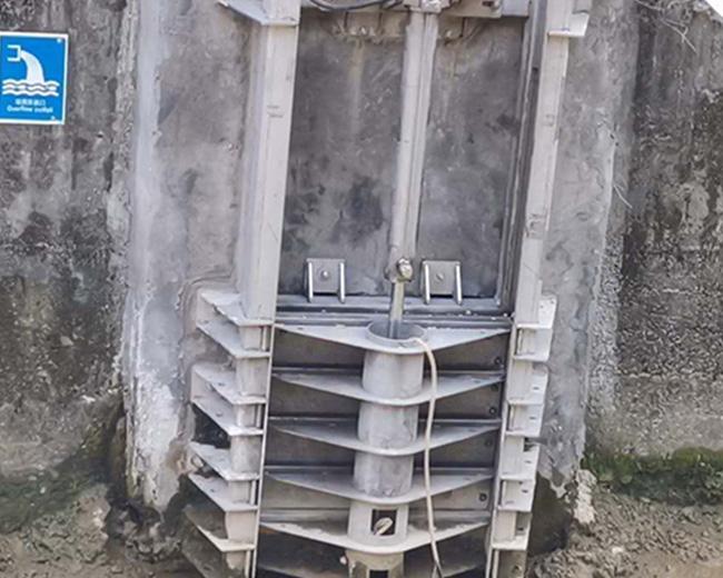 雙速液壓閘門
