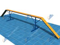 公安警犬障碍器材-独木桥