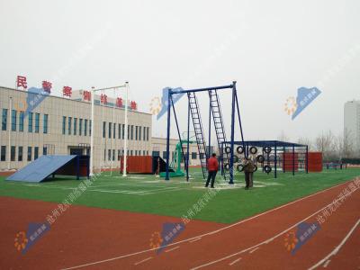 公安特警五项-110米综合体技能障碍场