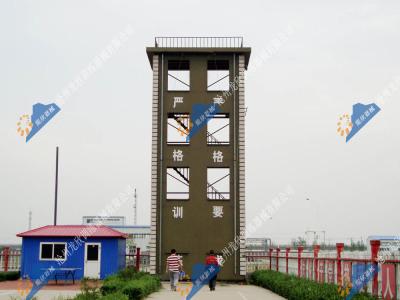全钢结构消防训练塔