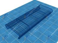 警犬障碍训练器材-匍匐网笼