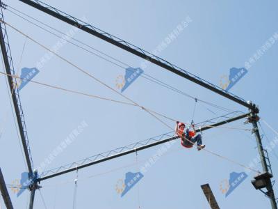 高空拓展训练设施-十字网