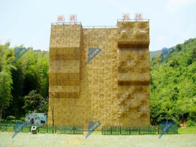 室外独立攀岩墙-人工攀岩设施