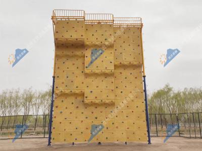 定制攀岩墙-人工攀岩设备