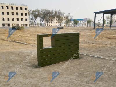 矮墙-军人四百米障碍场