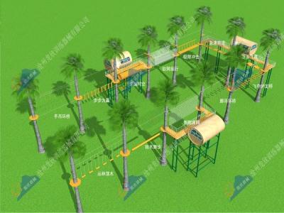 丛林穿越探险乐园-飞越丛林探险乐园