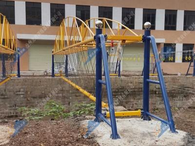 水上拓展训练设施-水上独木桥
