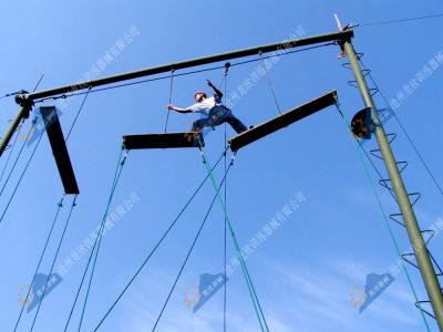 高空心理拓展训练器械-合力桥(合力制胜)