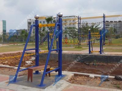 水上拓展器械-手吊环桥