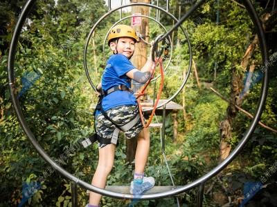 飞越丛林探险乐园-树上探险乐园