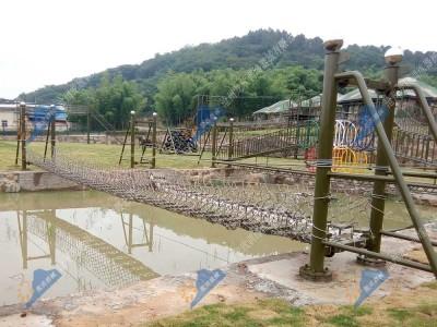 水上拓展设备-锁链桥(泸定桥、吊索桥)