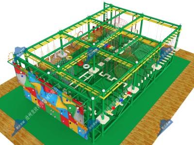 室内儿童探险乐园-儿童探险拓展器械