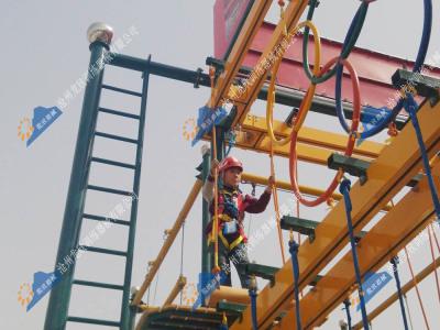 儿童绳网探险乐园-儿童绳网探险设备