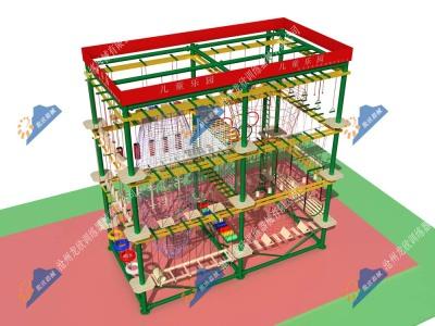 室外儿童乐园-室外儿童拓展器械