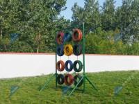 心理行为训练场地器械-轮胎墙
