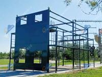 简易绳索救援训练场-消防绳索救援训练场