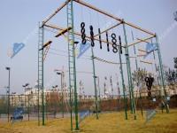 山西LXCZ-QMT型户外高空拓展器材-高空七面体组合拓展器材
