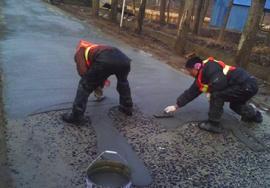 路面快速修補料施工案例