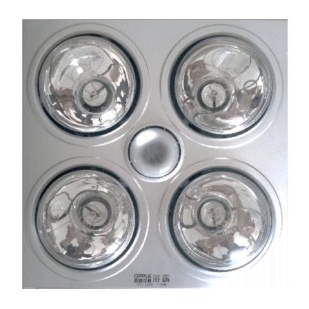 燈暖浴霸D72