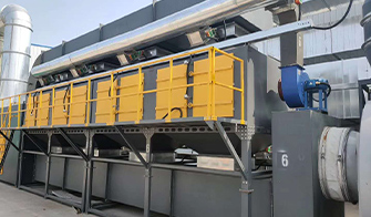 工業噴漆廢氣處理的解決方法