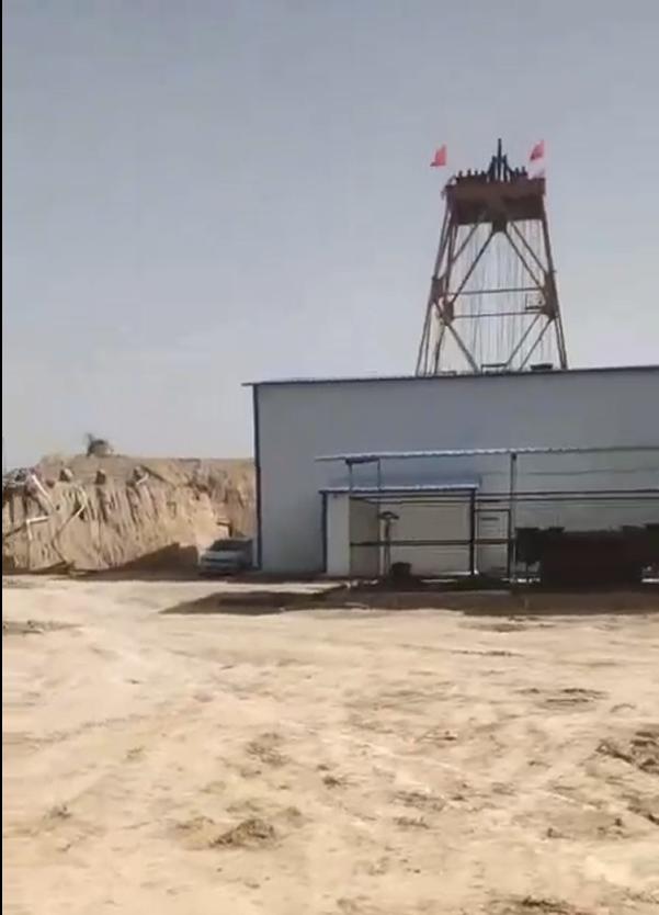 山东黄金赤峰柴胡栏子玻璃钢梯子间案例