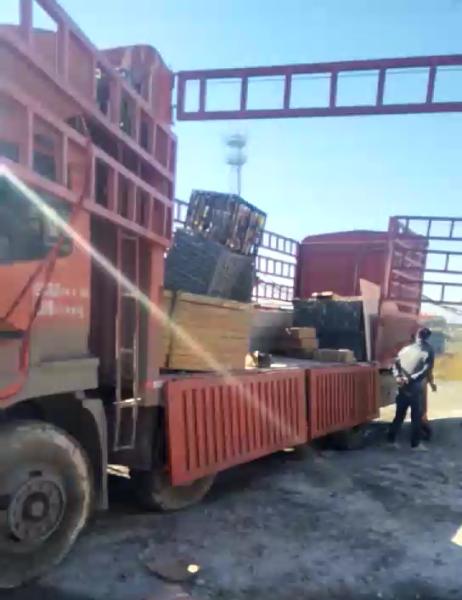 广西煤矿热浸锌防腐罐道使用案例