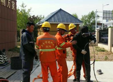 沈阳市五爱泵站清淤工程
