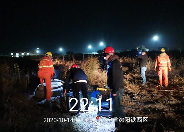 沈阳市大堤路清淤