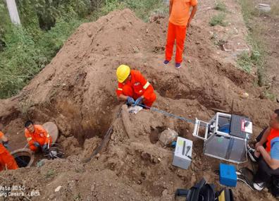 西污一期进水管线支线声纳检测工程