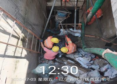 十三号街泵站清淤