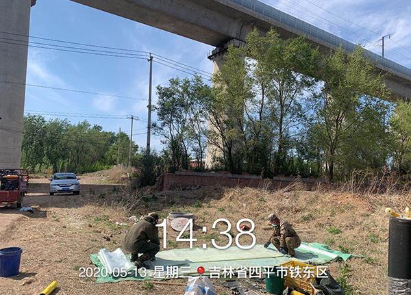 吉林省四平市管线局部CIPP修复