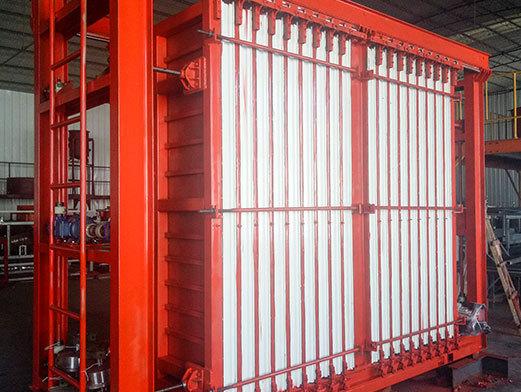 复合轻质隔墙板生产线