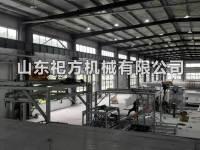 河南客户轻质墙板设备调试完成顺利投产!