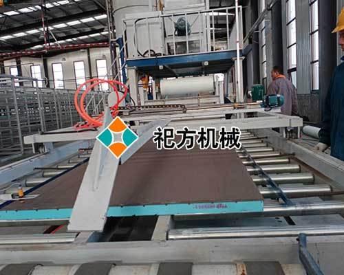 全自动复合保温模板生产线