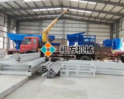 复合保温模板设备生产线