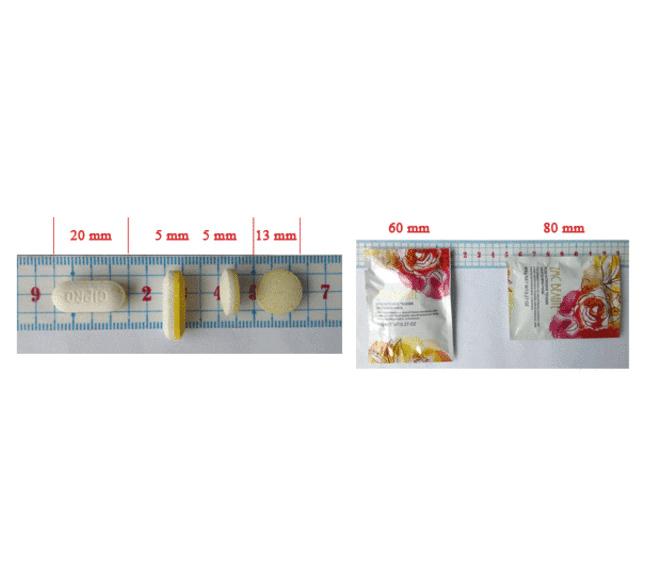 藥品-藥丸藥片四邊封(平刀)
