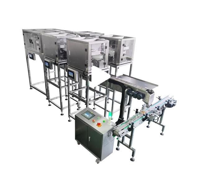 SIG-十四头电子秤灌装生产线
