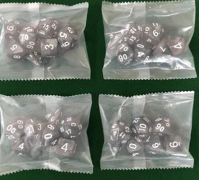 玩具-骰子/色子/多面骰子包裝