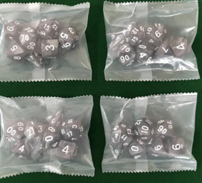 玩具-骰子/色子/多面骰子包装