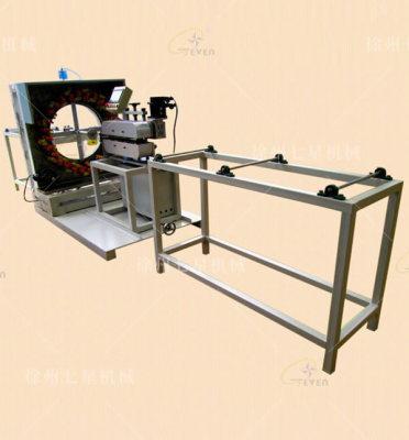 盐城QX90-56锭卧式编织机