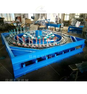 盐城QX130-136锭卧式编织机