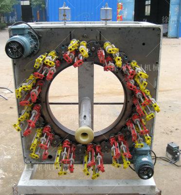 吉安QX110卧式48锭编织机