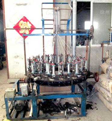 天门低速168系列36锭钢丝编织机